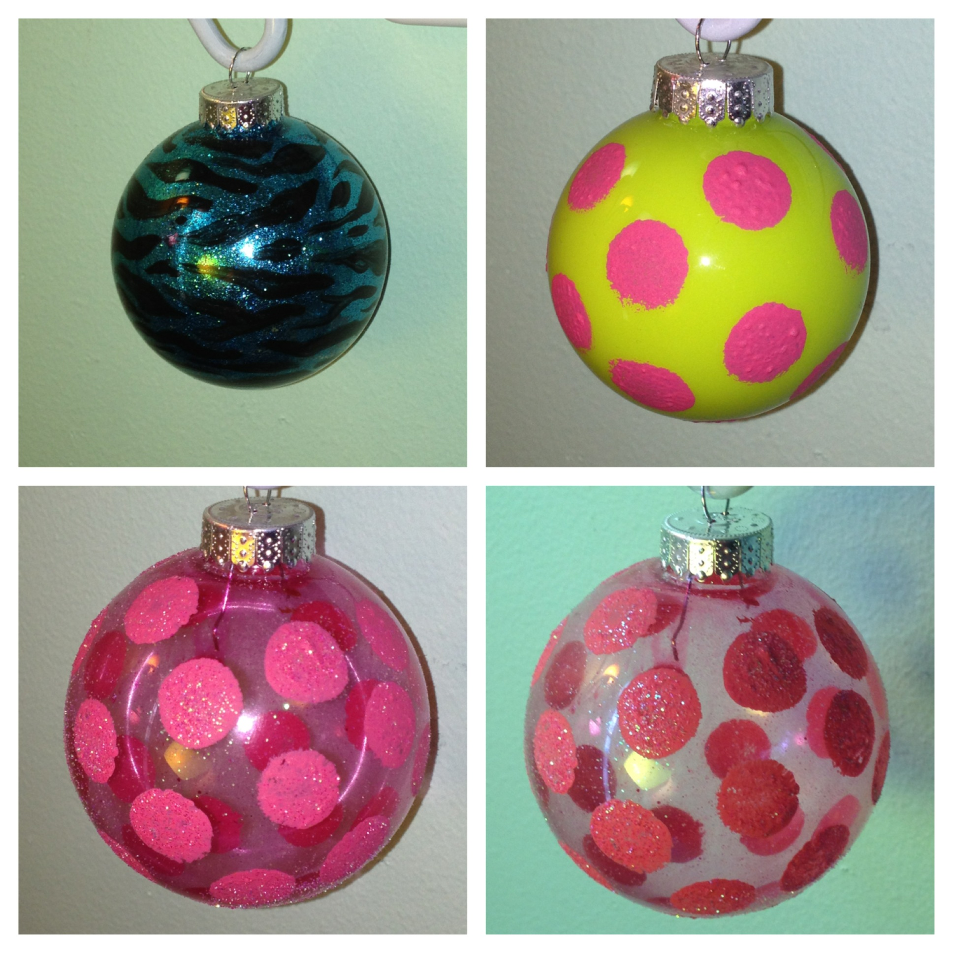 Diy best methods for glitter ornaments hey hey heather k diy painting solutioingenieria Image collections